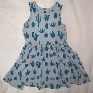 Girls Tea Collection Cactus Dress Sz 8
